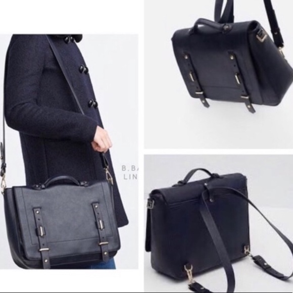 c82af79504 Zara Bags | City Convertible Messenger | Poshmark